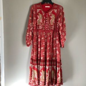 🍒SOLD🍒Cherry Red Poinciana Spell and the Gypsy